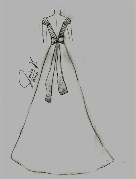 Sketches H by Own Line Wedding Gown Sketches