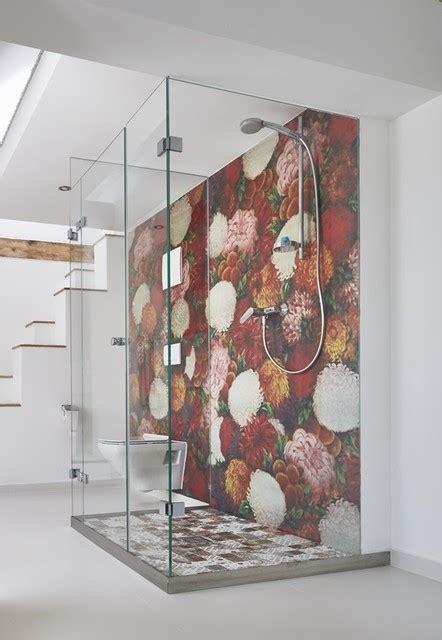 wasserfeste tapete dusche tapeten wall deco auch wasserfest f 252 r in die dusche