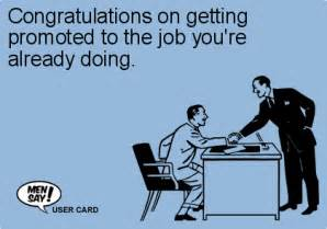 congratulations on getting promoted to the yo ecard