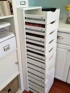 Craft Storage Cabinet Finally A Unit With Enough Drawers This Is From Ikea Scrapbook Storage The