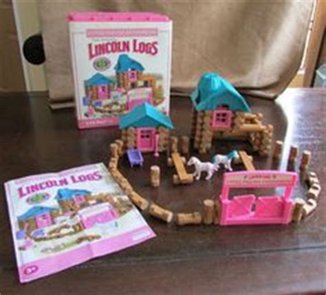 lincoln logs pink 1000 images about toys new and vintage for and boys