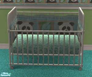 vanilla sim s vs panda nursery crib bedding