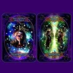 witches wisdom oracle cards amazing deck aloha karten jeanne ruland only available in deutsch oracle tarot decks