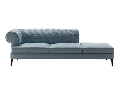 poltrona frau sofa bed manto day bed by poltrona frau