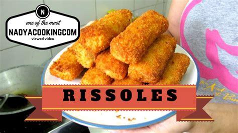 rissole recipe resep risoles sayur keju youtube