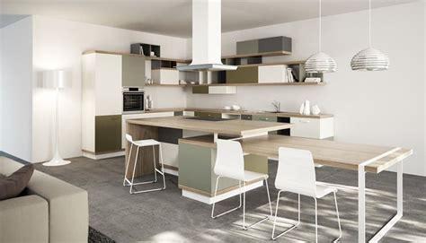 cucine soggiorni cucina e soggiorno unico ambiente consigli cucine