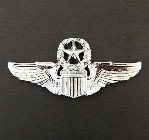 Wing Pilot Badge Us Air Usaf Emblem us air command pilot wings aviator insignia metal badge pin airforce ebay