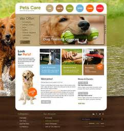 Pet Templates by Pet Care Html Website Template Best Website Templates