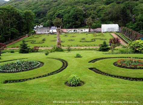 Victorian Walled Garden At Kylemore Abbey Walled Gardens Ireland