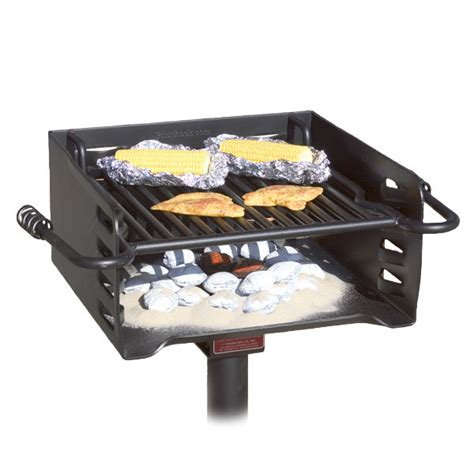 Backyard Grill Charcoal Park Style All Steel Bbq Charcoal Grill Model H 16 B6x2