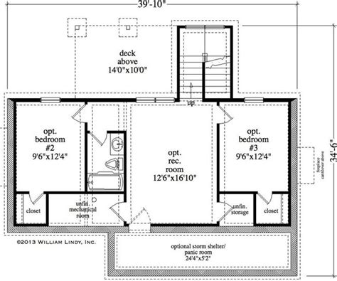 safe room house plans numberedtype
