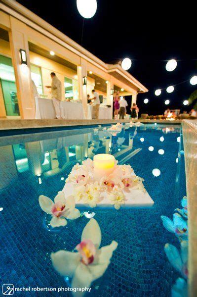 diy wedding pool decorations floating pool decorations event decor