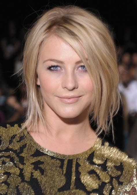 how to get julianne houghs bob julianne hough shoulder length bob haircut for straight
