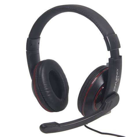 Headset Hp lot 2pcs ov q1 usb stereo headphone headset with microphone for hp dell new ebay