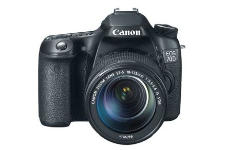 Kamera Canon Eos 70d Kit 18 135mm canon eos 70d 18 135mm is stm refurbished canon
