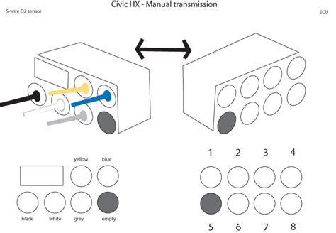 1992 honda accord o2 sensor wiring wiring diagrams