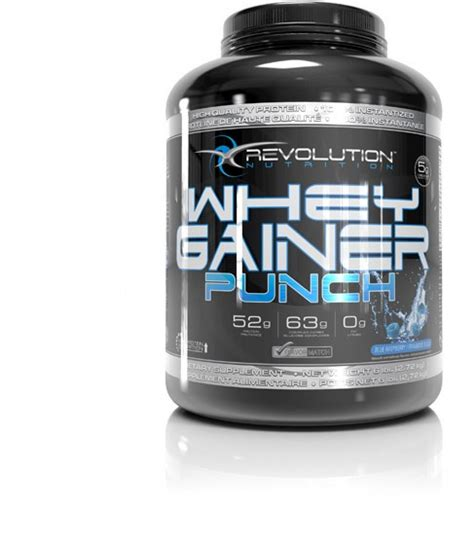 Whey Gainer Whey Gainer Punch 3 Tnt Nutrition