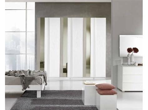 armadio laminato armadio gierre in laminato bianco frassino con specchio e