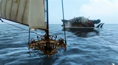archeage new fishing boat a look at new nautical monsters from the korean archeage