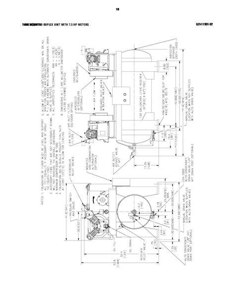 Ingersoll Rand 2475 Air Compressor Parts List English
