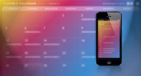 Calendario Html5 Create Responsive Calendar With Calendario Jquery Plugin