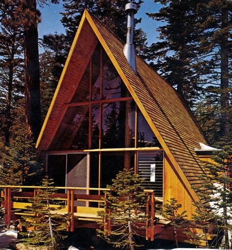 why a mid century modern a frame house is a