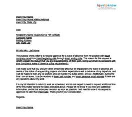 letter leave of absence wedding costa sol real estate