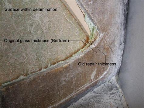 31 Bertram31 Com Hull Repair Working From The Inside