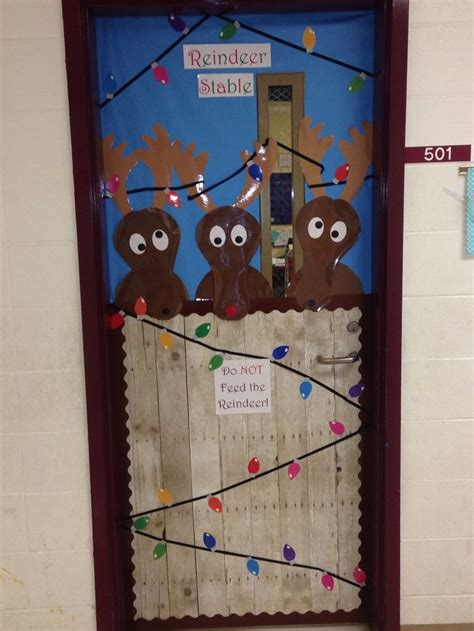 christmas doors classroom 25 best ideas about classroom door on the grinch door decorations for
