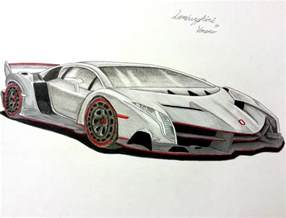 How To Draw A Lamborghini Veneno Step By Step Lamborghini Veneno By Spiritofangela On Deviantart