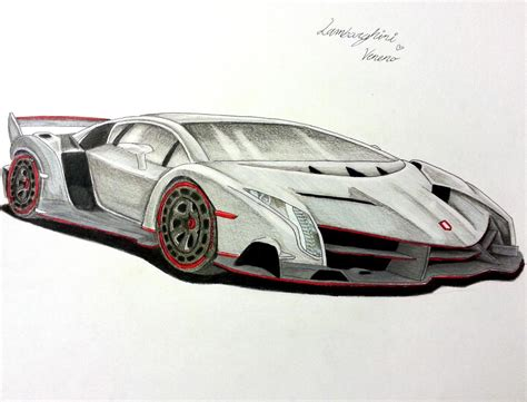 Lamborghini Drawing by Lamborghini Veneno Drawing 2017 Ototrends Net