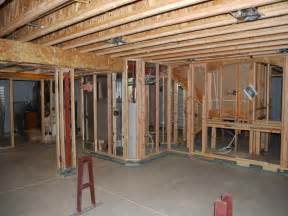 how to repair how to frame walls for basement framing