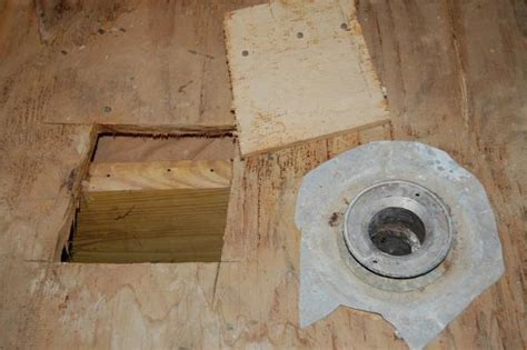 replacing a subfloor in a bathroom do i need to replace part of my bathroom sub floor