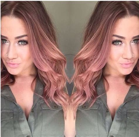 Bloude Dusty Pink 133 best images about hair raising ideas on