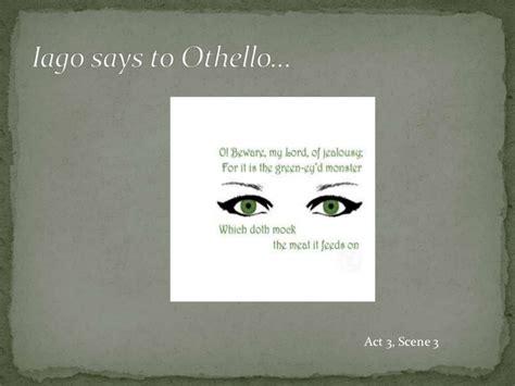 Field Of Themes Othello | othello jealousy