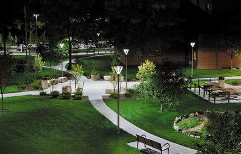 minneapolis public housing public park led lighting case study minneapolis mn cree lighting