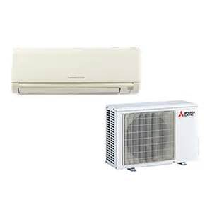 Mitsubishi Ductless Heating And Cooling Reviews Mitsubishi 9k Btu 24 6 Seer Cooling Only System In