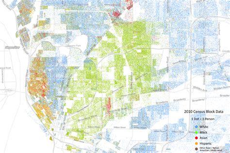 City Of Buffalo Property Records The Racial Dot Map Buffalo Rising