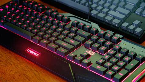Keyboard Asus Cerberus asus cerberus keyboard mouse review techporn