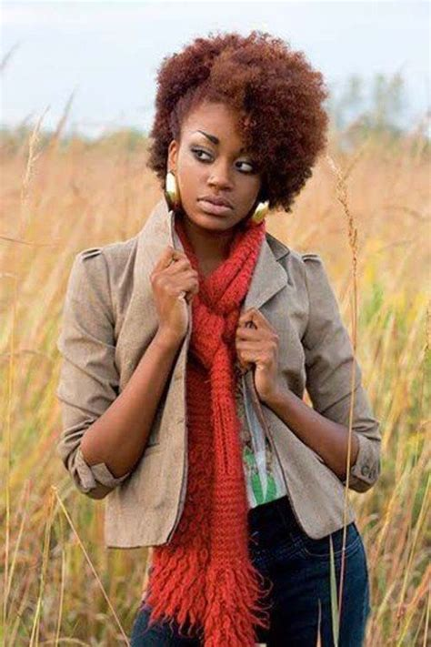 african american natural short kinky hairstyles beautiful short hairstyles for black women