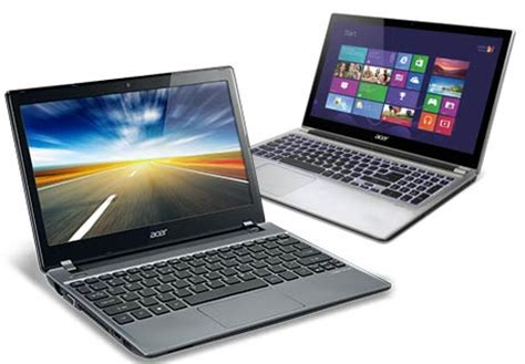 Laptop Acer Aspire V5 4 Series acer aspire v5 price in india out series comprises of 4 touchscreen laptops techgadgets