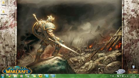 theme windows 7 world of warcraft world of warcraft windows 7 theme download