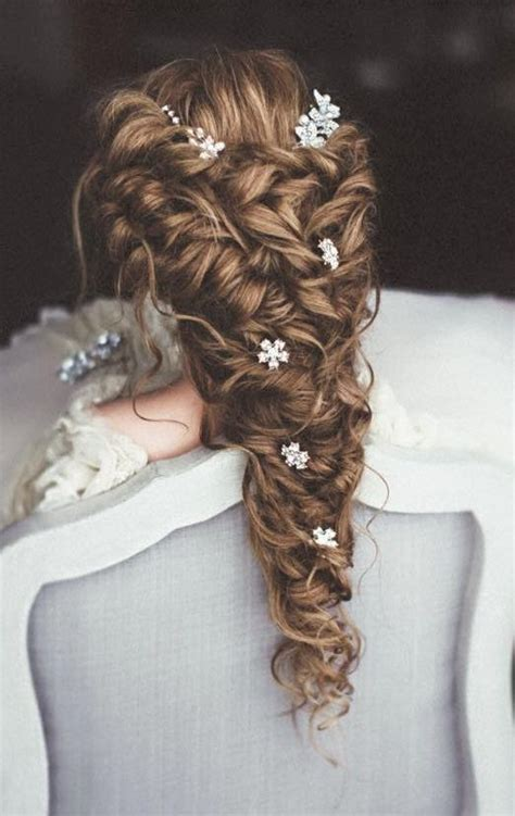 wedding hairstyles with braids and flowers 45 wedding hairstyles with flower crowns for your