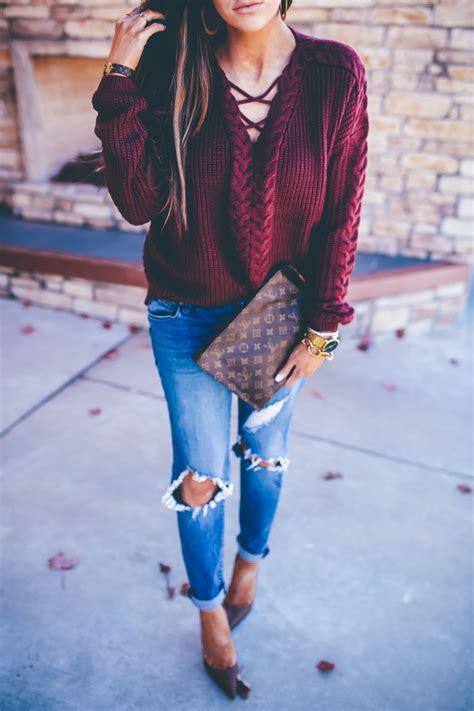 styling boyfriend jeans   fall  sweetest
