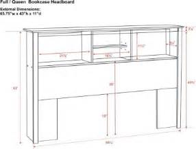 woodwork free bookcase headboard plans pdf plans