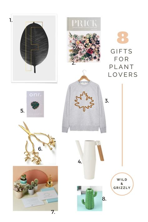 plant lovers plant lovers gift guide wild grizzly