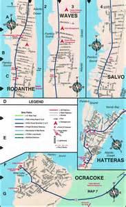 rodanthe carolina map maps hatteras rodanthe salvo waves avon buxton
