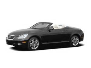 2006 lexus sc 430 base a5 convertible ratings prices