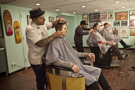 sixteen of the best indie barbershops in new york city