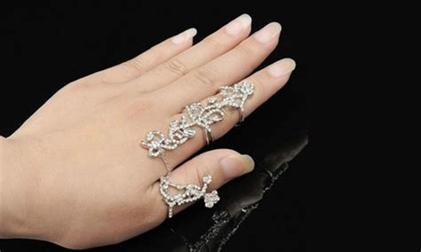 one aed 59 or two aed 79 statement rings